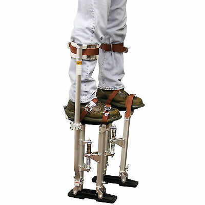 Dry Wall Stilts Tools Painter Walking Taping Finishing Adjustable Heavy-duty Can