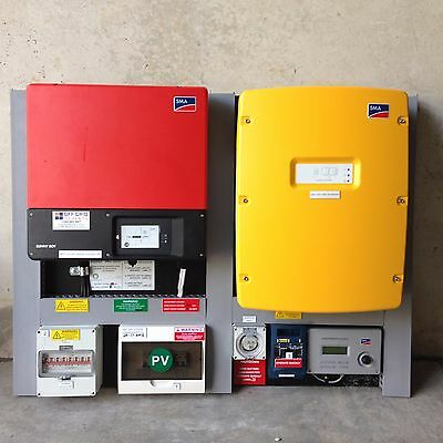Sma Off Grid / Stand Alone Solar Power System Kit Add Panels & Batteries