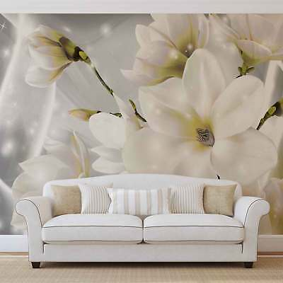 WALL MURAL PHOTO WALLPAPER XXL White Flowers (3508WS)