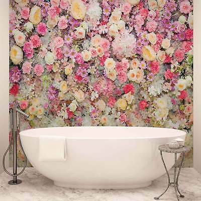 WALL MURAL PHOTO WALLPAPER XXL Beautiful Flowers Pastel Colours (3102WS)