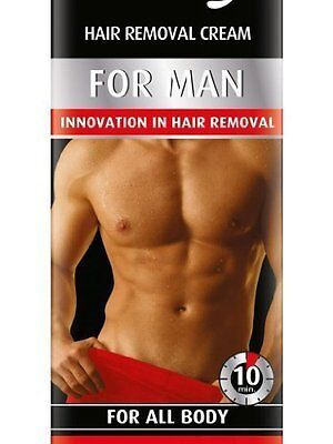 Bielenda MAN Hair Removal CREAM For Men For All Body 100ml - Quickly 10min!!!!