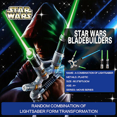 Hasbro Star Wars 100+ Combinations Led Lightsaber Blade Builders Kid Playset Toy