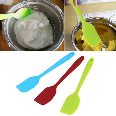 Silicone FYking Tool Cake Cream Butter Spatula Mixing FYtter Scraper BrushNG