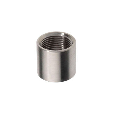 "Manicotto A Saldare Inox Aisi 304 Tornito - Filetto Gas Da 1/8"" A 4"""