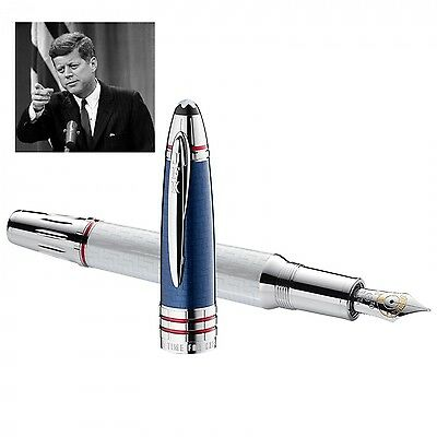 Montblanc Stilografica John F. Kennedy Great Character Jfk Limited Edition 11104