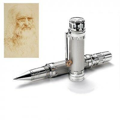 Montblanc Roller Great Characters Leonardo Da Vinci Limited Edition 109252