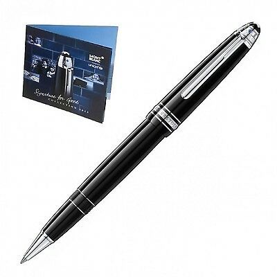 Montblanc Roller Meisterstuck Legrand Platinum Signature For Good Unicef 109350