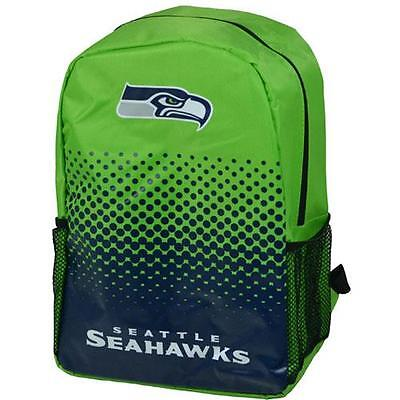 Seattle Seahawks - Fade Logo Backpack / Rucksack - New & Official NFL