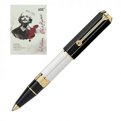 Montblanc Penna A Sfera Writers Edition William Shakespeare Special Limited Edit
