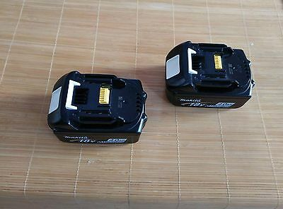 2X Brand-New Genuine Makita 4.0Ah 18v Li-Ion Battery BL1840 for LXT drill saw