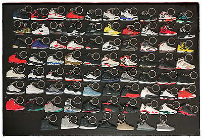 Jordan Sneaker KeyChain Yeezy Bred Supreme Air Mag Space Jam Infrared 750 Boost