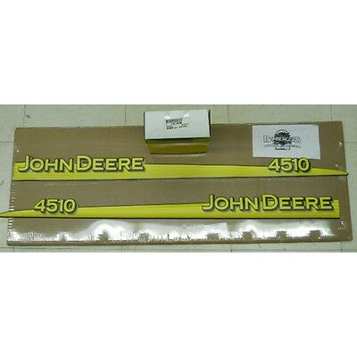 John Deere Hood Trim Decal Set - LVU12289 LVU12290 - 4510