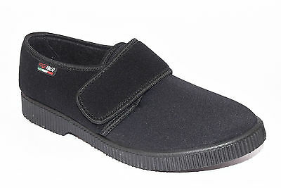 Hombre Gaviga Falco Elasticized Black Slippers Winter Tear 514 cTlFK3u1J