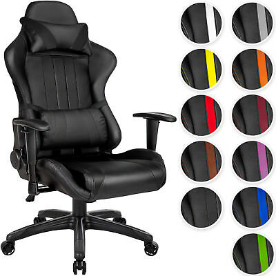 Office Chair Executive Racing Gaming Car Seat Back Support Faux Leather