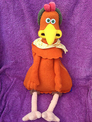 "Chicken Run Ginger 20"" Rucksack/backpack - Aardman Dreamworks 1999 - Lovely Cond"