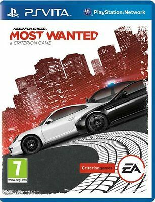 NEED FOR SPEED MOST WANTED _ JEU EN FRANCAIS_NEUF SONY PSVita_ LIVRAISON 48/72H