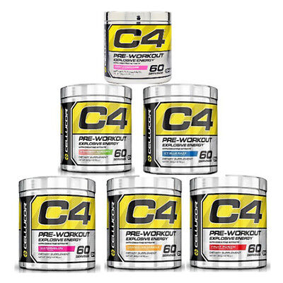 Cellucor C4 4th Generation 60 Serving