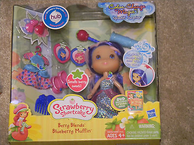 Strawberry Shortcake Berry Blends Blueberry Muffin NEW