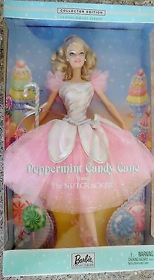 Barbie Collector Edition Classic Ballet Series Peppermint Candy Cane Nutcracker