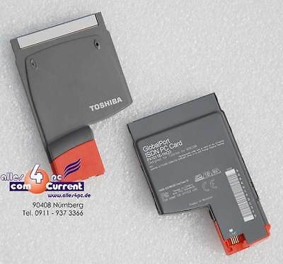 Pcmcia Cardbus Isdn Modem Card PX1011E-1NCO Xircom for Windows 95 98 2000 #K891