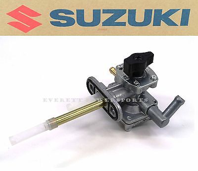 New Genuine Suzuki Fuel Gas Petcock Valve 04-06 LTZ250 Quadsport Quad ATV #L169