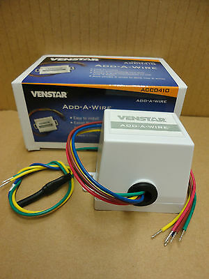 ~Discount HVAC~ ACC0410 - Venstar Add-A-Wire - 24VAC Thermostats - 4 to 5 Wires