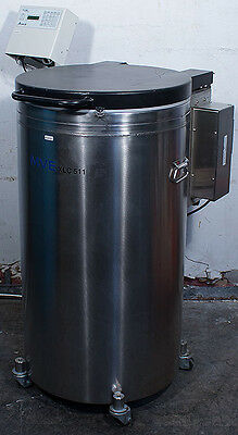 Chart MVE XLC 511-F-GB-BB Cryo Preservation Cryogenic Liquid Nitrogen Freezer