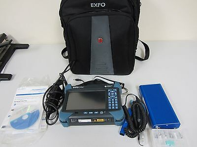 EXFO FTB-1 Mainframe/ FIP400 scope /BV10 /All software included.