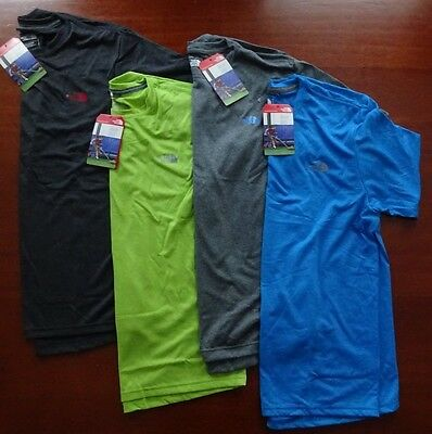 North Face Men's Short Sleeve Reaxion Amp Crew Tee NWT New Fall 2016 Line