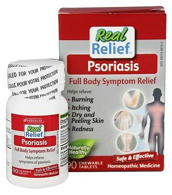 Homeolab USA - Real Relief Psoriasis - 90 Chewable Tablets