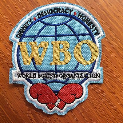 Patch Badge Wbo - World Boxing Organization - Boxe