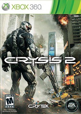 Crysis 2 -- Xbox 360 -- VARIOUS CONDITIONS