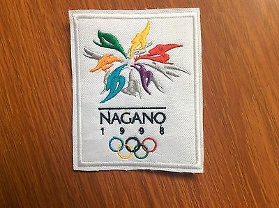 Patch Badge Nagano 1998 Winter Olympics Games - Japan