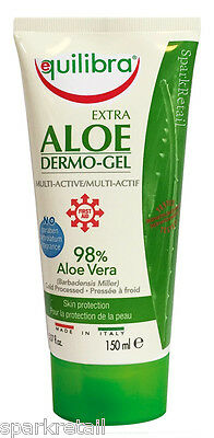 Equilibra 98% EXTRA ALOE VERA Dermo-Gel Soothing Skin Protection 150ml