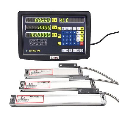 3  Axis DRO digital readout for milling lathe machine with 3 linear scales