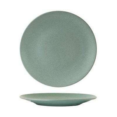 6x Coupe Plate, Zuma 'Mint' Green 260mm Commercial Crockery / Restaurant / Cafe