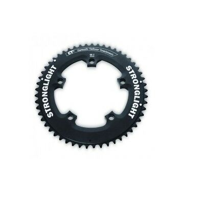 STRONGLIGHT CT2 CERAMIC TIME TRIAL BLACK 110BCD mm SHIMANO COMPACT CHAINRING 53T