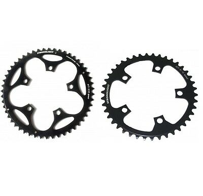 STRONGLIGHT DURAL 5083 BLACK 110BCD mm SHIMANO COMPACT CHAINRING   46T
