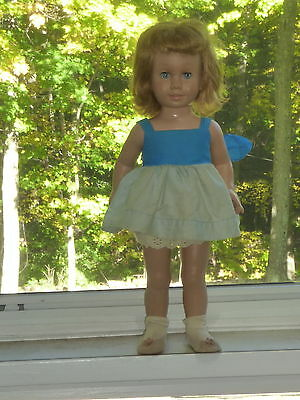 1960's Mattel Chatty Cathy Strawberry Blond 1st Issue Untagged Original Clothes