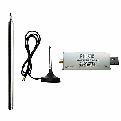 RTL-SDR Blog RTL2832U 1PPM TCXO HF BiasT SMA Software Defined Radio + Antennas