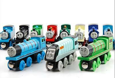 Thomas & Friends Wooden Magnetic Tank Engine Railway Train Toy Car Kids Gifts