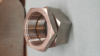"""2""""  3 Piece Coupling  Stainless Steel Electrical"""
