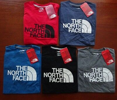North Face Men's Short Sleeve Half Dome Tee NWT New Fall 2016 Line