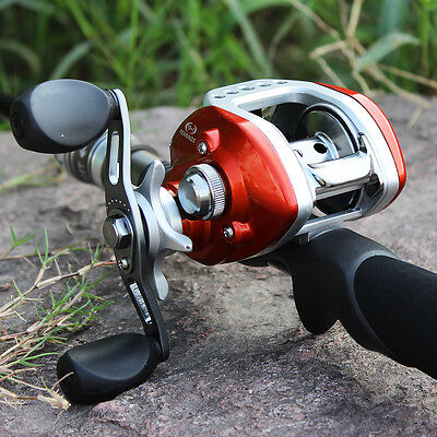 Casting Fishing Rod with Reel Left/right Hand Adjustable Spinning Fishing Kits