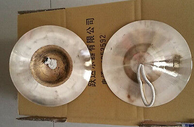 17 CM Hand Cymbals (pair) - typically found in Peking Opera Musical Instruments