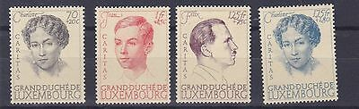 Luxembourg  1939  Sg392 - 395  Anniversary Of Royal Marine Mh