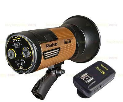 NiceFoto HS-600C 600W 1/8000s Hi Speed Portable Strobe Flash Light For Canon