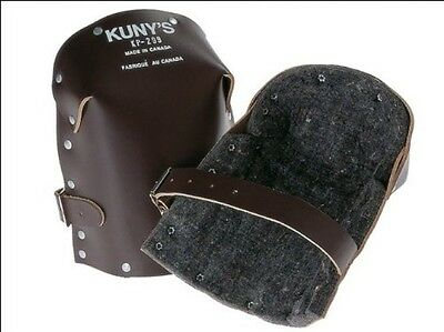 Kunys KP299 Heavy Duty Leather Thick Felt Knee Pads