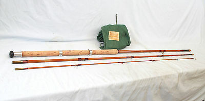 "12'-0"" Milwards the Swimmaster hollow built Match fishing rod 3 piece  unused"