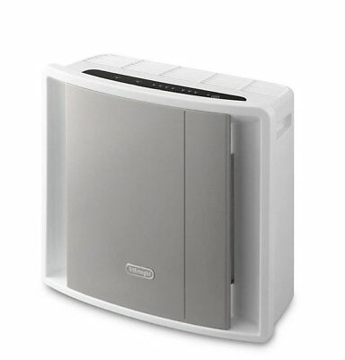 De'Longhi Compact Air Purifier 3 Level Filtration and Ioniser AC100, 40 W